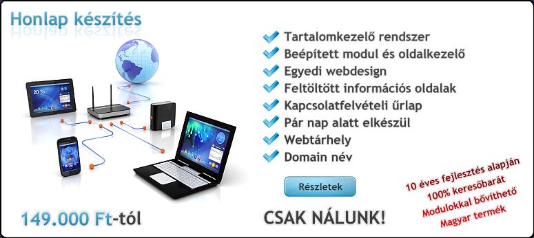 Honlap készítés - csomagok összehasonlítása 0bb8a7072f
